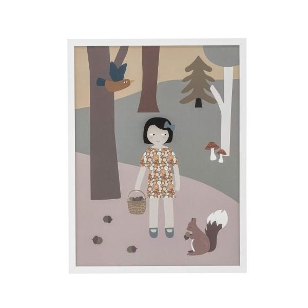 Niedliches Kinderbild mit Rahmen von Bloomingville