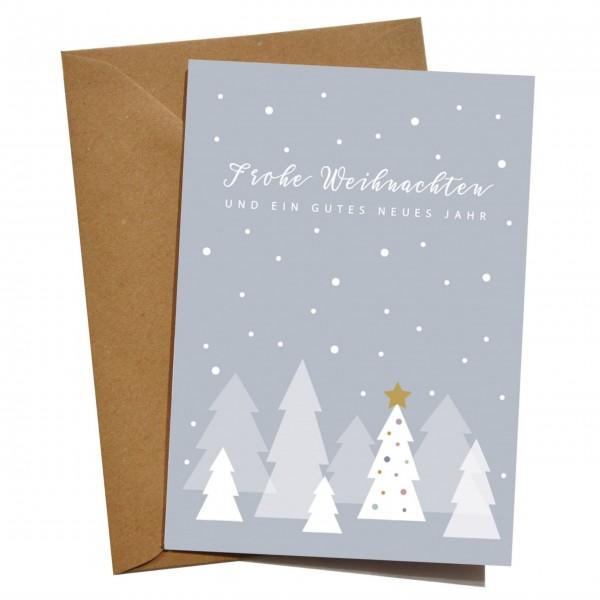 mimie&joe Weihnachtswald - Grußkarten