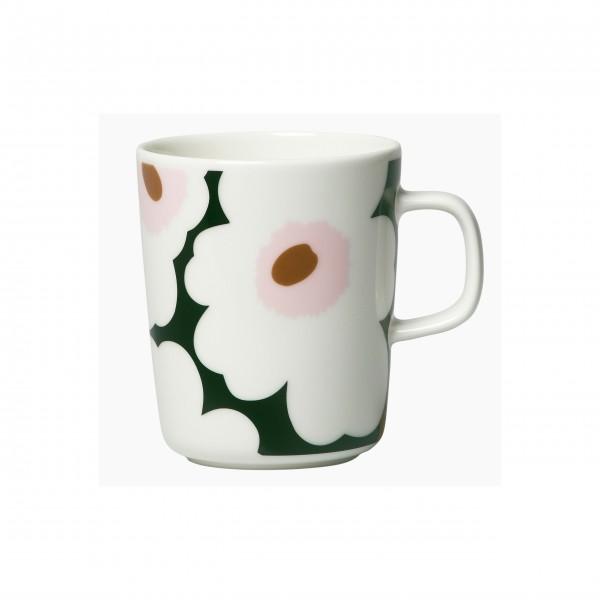 "Marimekko Kaffeetasse ""Oiva Unikko""  (Schwarz /Weiß)"