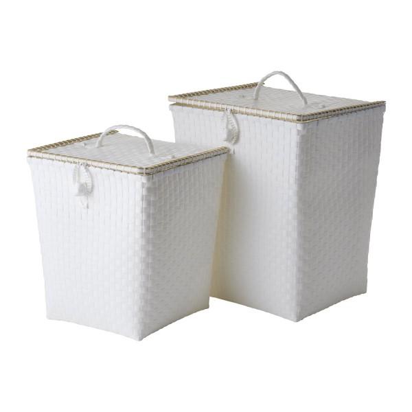 Wäschekorb aus Plastikgeflecht - von Rice