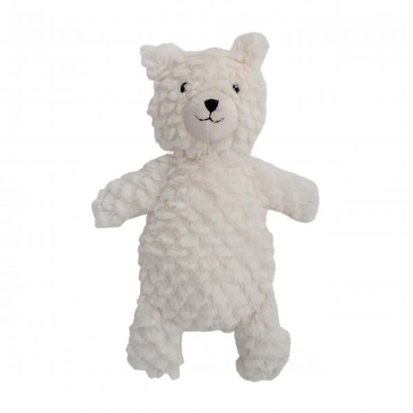 Kuschliger weißer Teddybär von Bloomingville