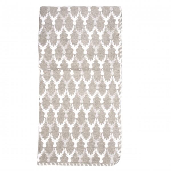 """Decke """"RUDOLPH"""" - 150 x 200 cm (Taupe) von pad"""