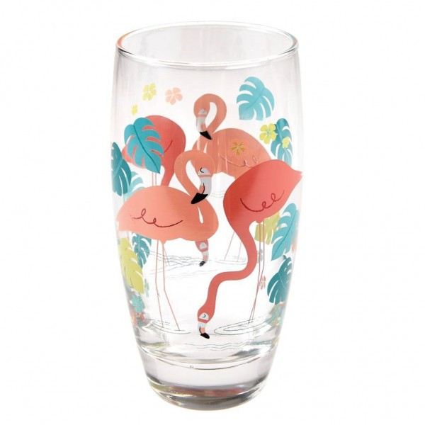 "Wasserglas ""Flamingo Bay"" von Rex LONDON"