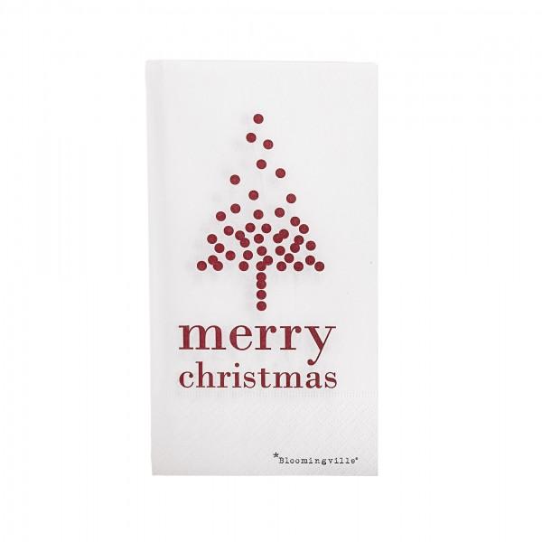 Bloomingville Weihnachtsservietten - 16 Stück!