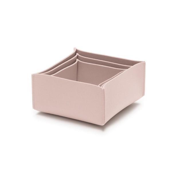 Filz-Box-Set 2 - SML (Rosa/Powder) von HEY-SIGN