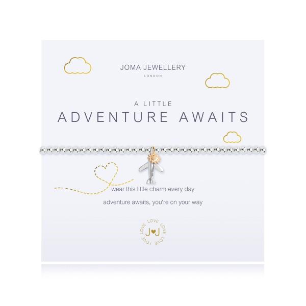 """Armband """"a little - Adventure Awaits"""" von Joma Jewellery"""