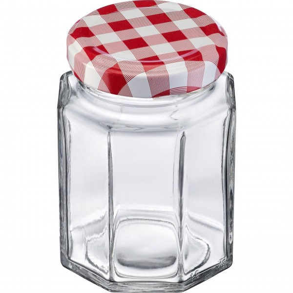 Westmark Einmach-Gläser im Set (Transparent/Eckig) - 191 ml