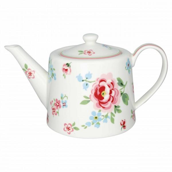 Klassische Form, toller Look: Teekanne von GreenGate