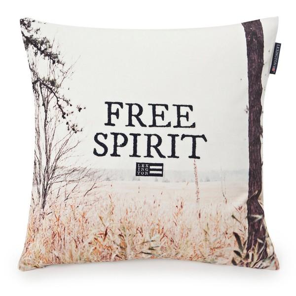 Free Spirit - toller Fotodruck auf der Kissenhülle von Lexington