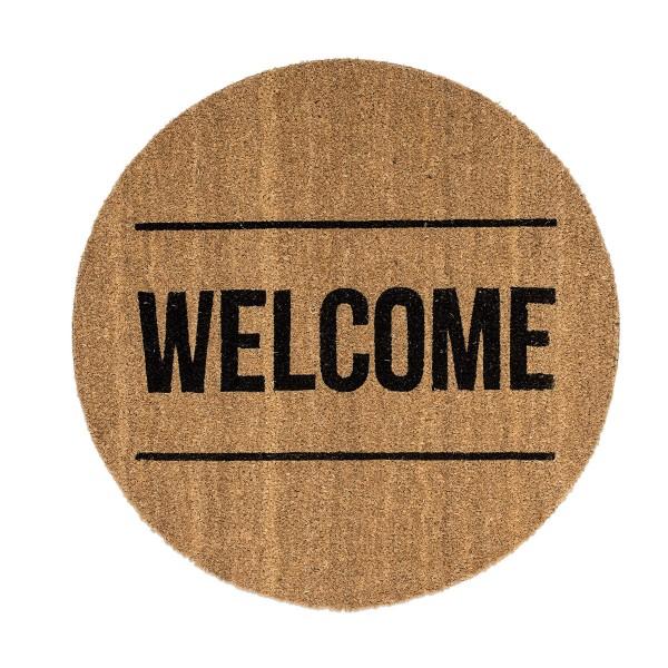 Kokos-Fußmatte Welcome  von Bloomingville