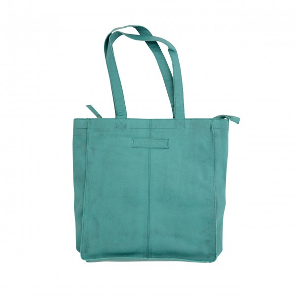 """Sticks and Stones """"Lucca Bag Washed"""" (Deep Turquoise)"""