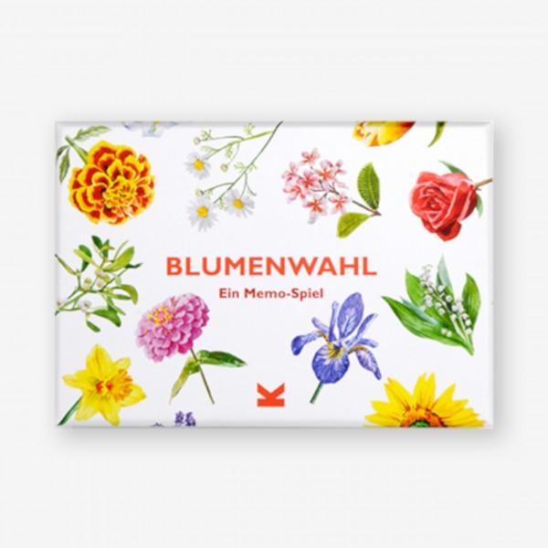 """Memo-Spiel """"Blumenwahl"""" von Laurence King"""