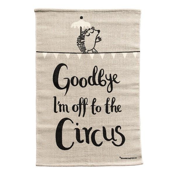 """Manege frei! Für den zuckersüßen Teppich """"Zirkus"""" von Bloomingville"""