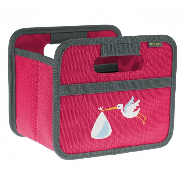 "meori Faltbox ""Berry Pink Stork"" - Mini"