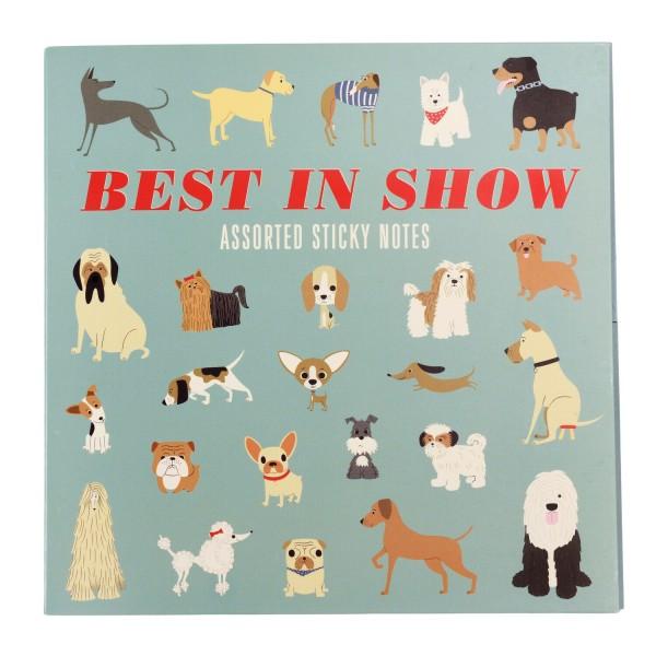 """Selbstklebende Notizzettel """"Best in Show"""" von Rex LONDON"""