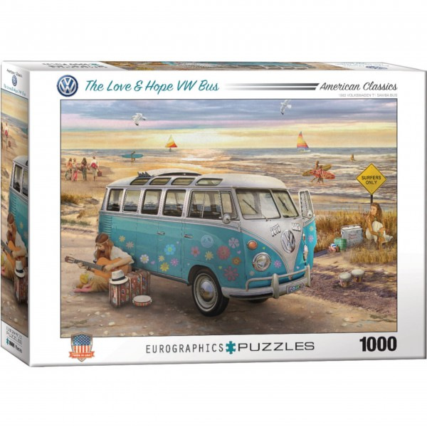 "Eurographics Puzzle ""The Love & Hope VW Bus"""
