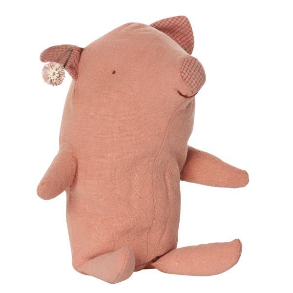 Kleines Stoffschweinchen zum Liebhaben - von Maileg