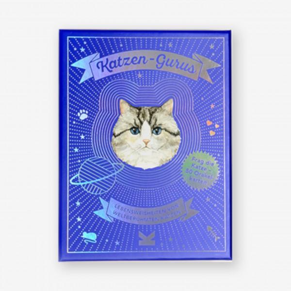 """Kartenspiel """"Katzen-Gurus"""" von Laurence King"""