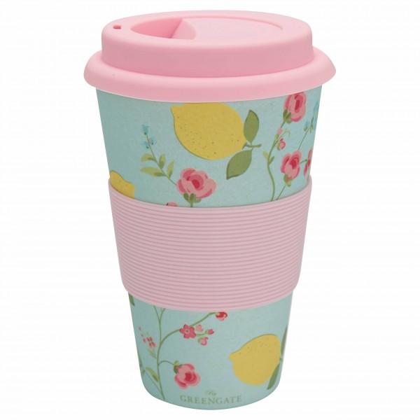 Bunter To-Go-Becher für den Kaffee unterwegs - von GreenGate