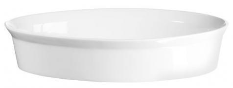 ASA 250° Plus Gratinform Porzellan oval, 34 x 22 cm
