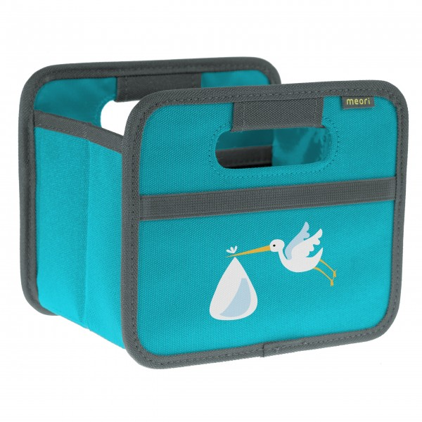 "meori Faltbox ""Azuree Blue Stork"" - Mini"