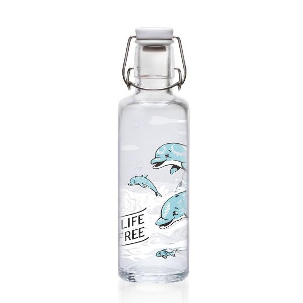 Delphine gegen den Durst: Trinkflasche von Soulbottles