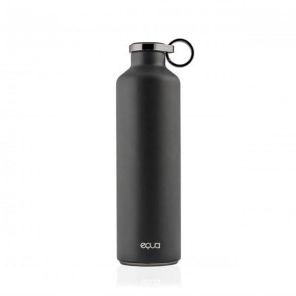 """equa Trinkflasche """"Basic"""" (Dunkelgrau), 680ml"""