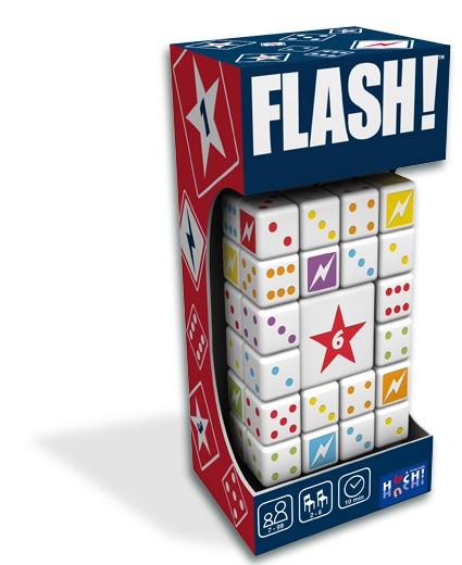 """Würfelspiel """"Flash!"""" von HUCH!"""