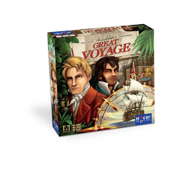 """Strategiespiel """"Humboldt's Great Voyage"""" von HUCH!"""