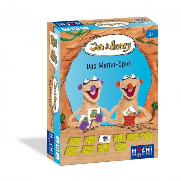Kinderspiel Jan und Henry - Das Memo-Spiel von HUCH!