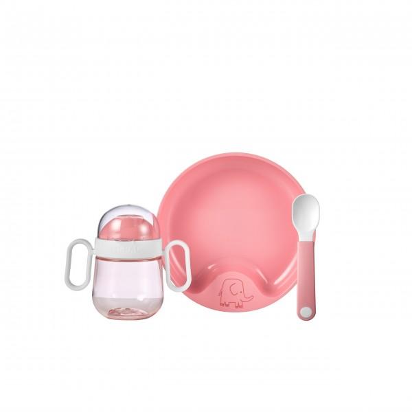 """Mepal Babygeschirr-Set """"Mio"""" (Deep Pink) - 3-tlg."""