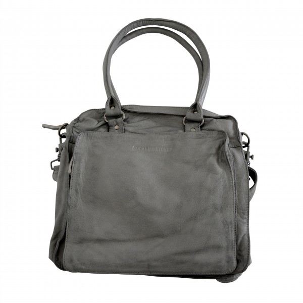 "Sticks and Stones ""Belize Bag Washed"" (Light Grey)"