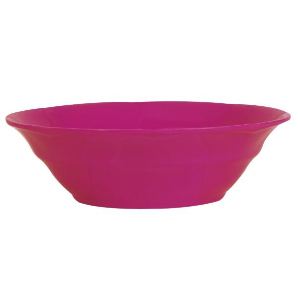 Knallige Suppenschale von rice in pink