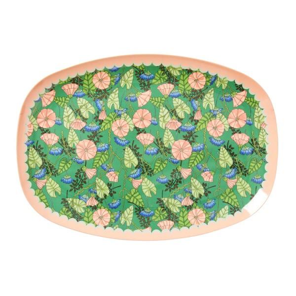 Melamin-Platte mit malerisch schönem Design!