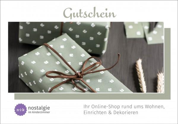 """Geschenkgutschein """"Glückwunsch"""" (Download)"""