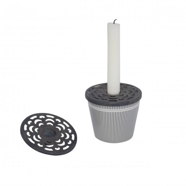 Super praktischer Kerzenhalter aus der neuen Kollektion von Krasilnikoff