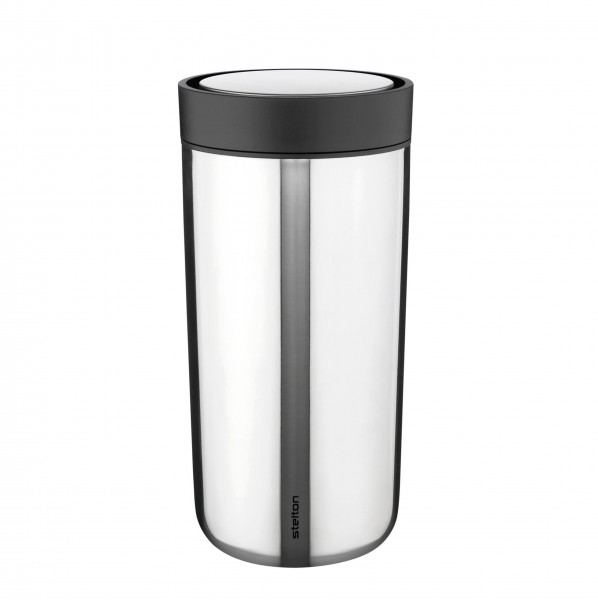 "Stelton Becher ""To Go Click"" - 400 ml (Stahl)"