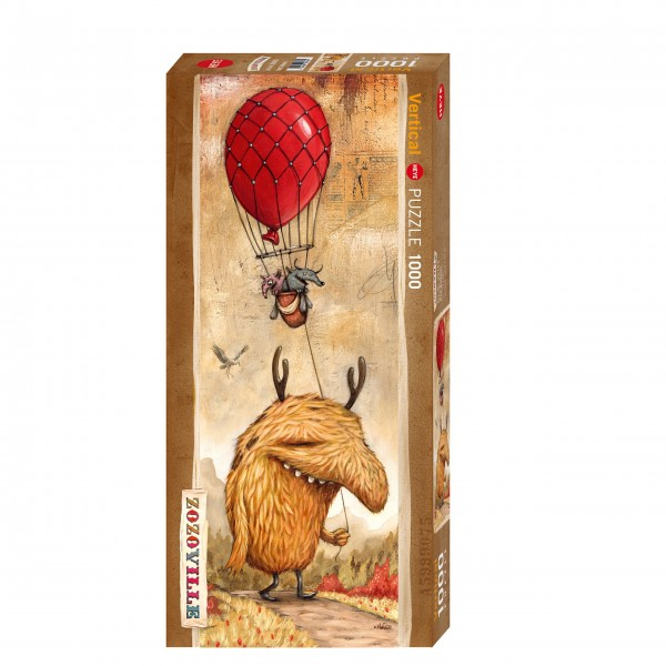 "Puzzle ""Red Balloon"" von HEYE"