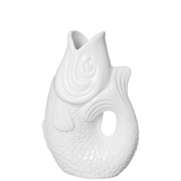 Gift Company Monsieur Carafon, Vase, S, weiß, 1,2 Liter