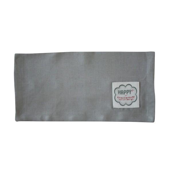 Krasilnikoff - Stoffserviette aus Leinen (Grau)