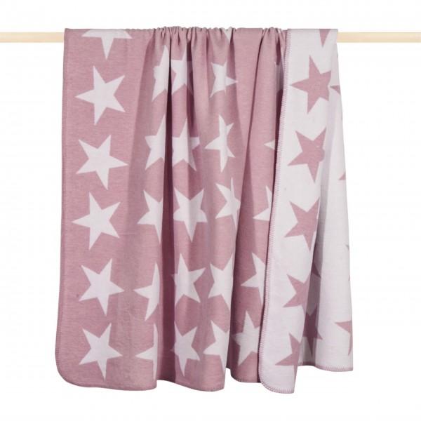 """Decke """"STARS"""" (Pink) von pad"""