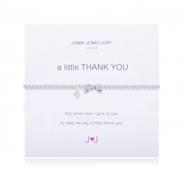 "Armband ""a little - Thank You"" von Joma Jewellery"
