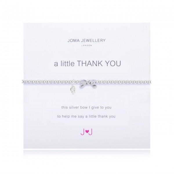 "Joma Jewellery Armband ""Thank You"""