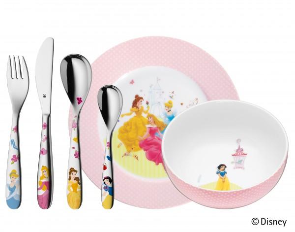 "WMF Kinderbesteck-Set ""Disney Princess"", 6tlg"