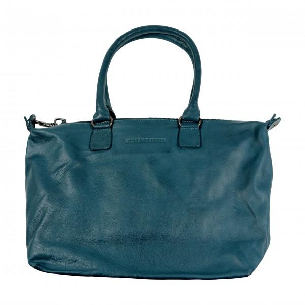 Satte blaue Schönheit: Lederbag von Stcks and Stones