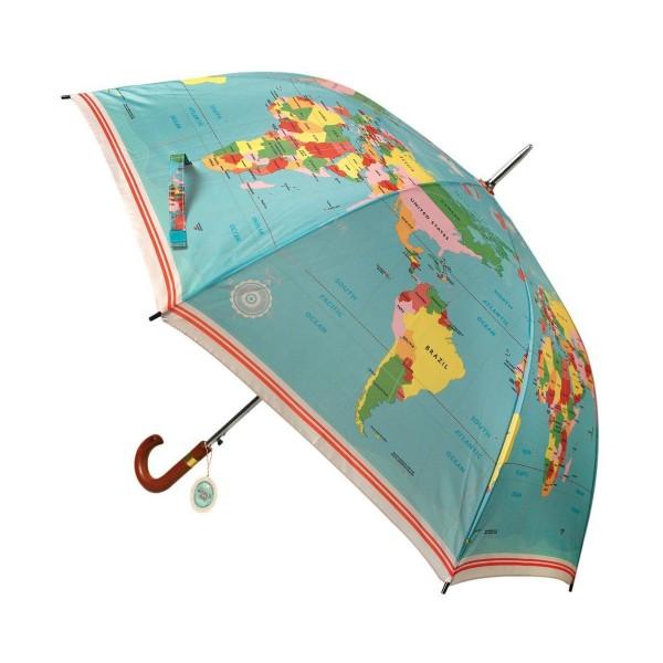 cooler Regenschirm für Weltenbummler!