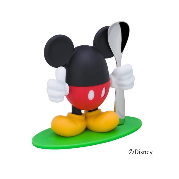 """WMF Eierbecher mit Löffel """"Mickey Mouse"""""""