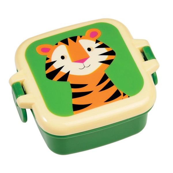 Tigermäßige Stärkung mit der Snackdose mit Schnallenverschluss