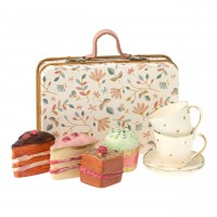Maileg Koffer mit Kuchen und Geschirr