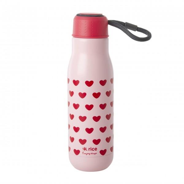 Liebevolle Thermosflasche aus der Sweet Hearts Kollektion von rice